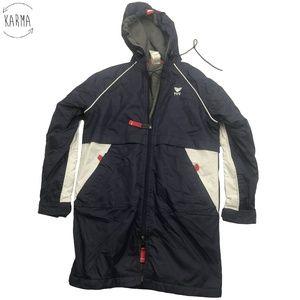TYR Alliance Team Hooded Parka Coat Jacket DP8